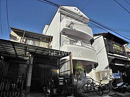 京都府京都市北区紫竹北大門町の賃貸マンションの外観