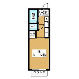 ビジャコンドウ[2階]の間取り