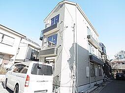 東京都葛飾区宝町2丁目の賃貸アパートの外観