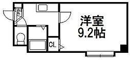 CORE24B[3階]の間取り