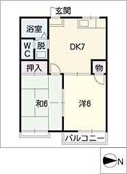 トピアヤマダ[2階]の間取り