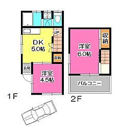 [一戸建] 埼玉県所沢市美原町3丁目 の賃貸【/】の間取り