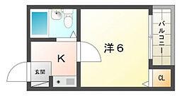 ハイツマツモトII[3階]の間取り