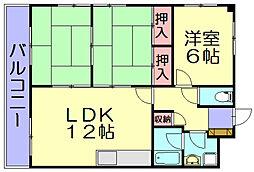 パークホーム志免中央[3階]の間取り