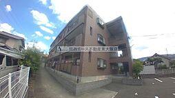 大阪府東大阪市中石切町3丁目の賃貸マンションの外観