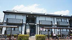 千葉県市川市北方町4の賃貸アパートの外観