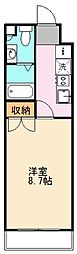 東京都練馬区北町6丁目の賃貸マンションの間取り