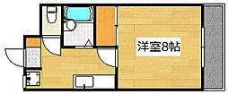 サンライズ日本[303号室]の間取り