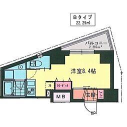 MY桜木町[0202号室]の間取り