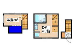 ファーストハウス経堂[3階]の間取り