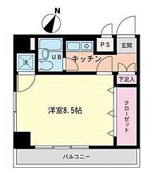 ウインビュ横浜[3階]の間取り