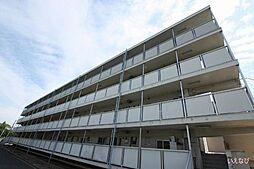 広島県福山市駅家町大字万能倉の賃貸マンションの外観