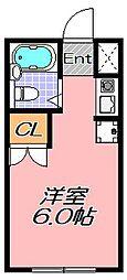 兵庫県神戸市灘区高徳町4丁目の賃貸マンションの間取り