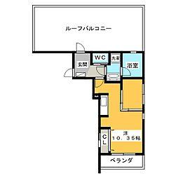 Mina八事石坂[4階]の間取り