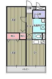 カトウマンションII[103号室]の間取り