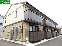 三重県四日市市西伊倉町の賃貸アパートの外観