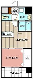 Apartment3771[705号室]の間取り