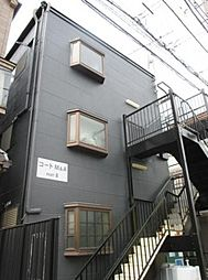東京都江戸川区鹿骨2の賃貸アパートの外観