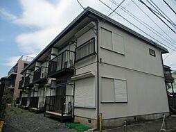 東京都立川市高松町3丁目の賃貸アパートの外観