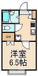 210アパートメントB[108号室]の間取り