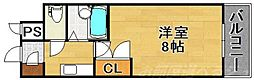 リファレンス南小倉[8階]の間取り