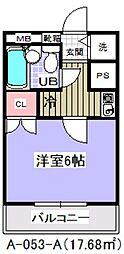 ローズガーデン53番館[101号室]の間取り