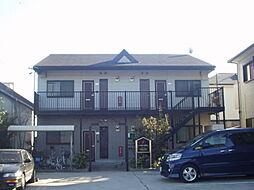 愛知県あま市中萱津足川の賃貸アパートの外観