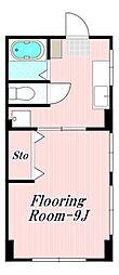 石井ハイツ[1階]の間取り
