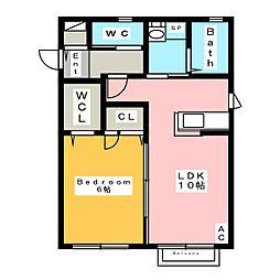 シャイン ホーム[1階]の間取り