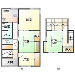 西舞子駅 4.8万円