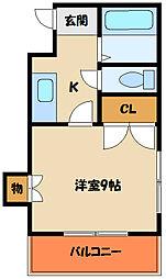 メゾン関芸[2階]の間取り