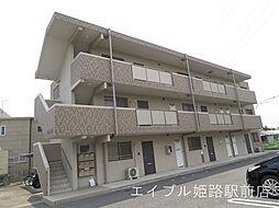 兵庫県姫路市兼田の賃貸マンションの外観