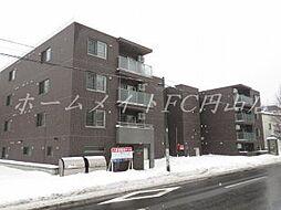 北海道札幌市中央区宮の森三条9丁目の賃貸マンションの外観