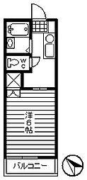 中町2丁目(モンシャトー宮腰)[1階]の間取り