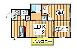 仮)柏たなかPJB11-C[3階]の間取り
