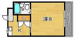 ルーチェ大住[3階]の間取り