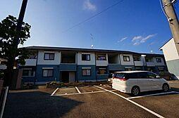 兵庫県川西市笹部の賃貸アパートの外観