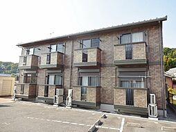 滋賀県大津市雄琴2丁目の賃貸アパートの外観