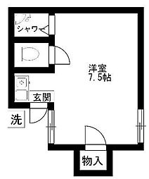 メゾン・ド・パレイ[1階]の間取り