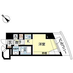 新潟ダイカンプラザ遊学館[412号室]の間取り