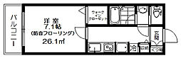 ランドステージM[108号室]の間取り