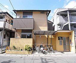 京都府京都市西京区桂朝日町の賃貸アパートの外観