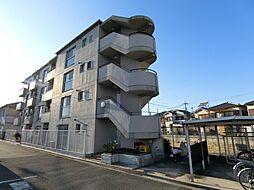 大阪府茨木市沢良宜西4の賃貸マンションの外観