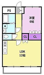 北野駅 4.2万円