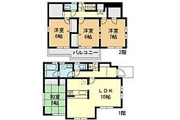 外観:4LDK、土地価格4280万円、土地面積122.02?、建物価格1600万円、建物面積104.83?