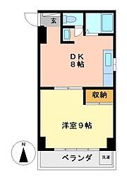 栄ファイブマンション[3階]の間取り