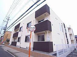 大阪府藤井寺市惣社2丁目の賃貸アパートの外観