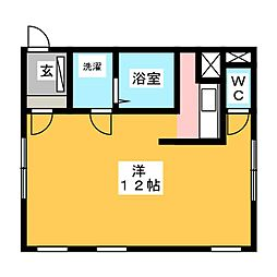 水島様アパート[2階]の間取り