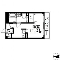 LAFORET宝持(ラ・フォーレホウジ)[203号室号室]の間取り