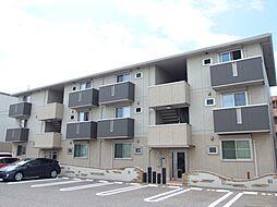 愛知県岡崎市江口2丁目の賃貸アパートの外観